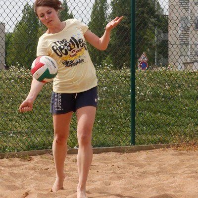 Tournoi de beach-volley