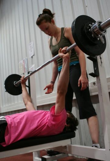 Entraînement de musculation