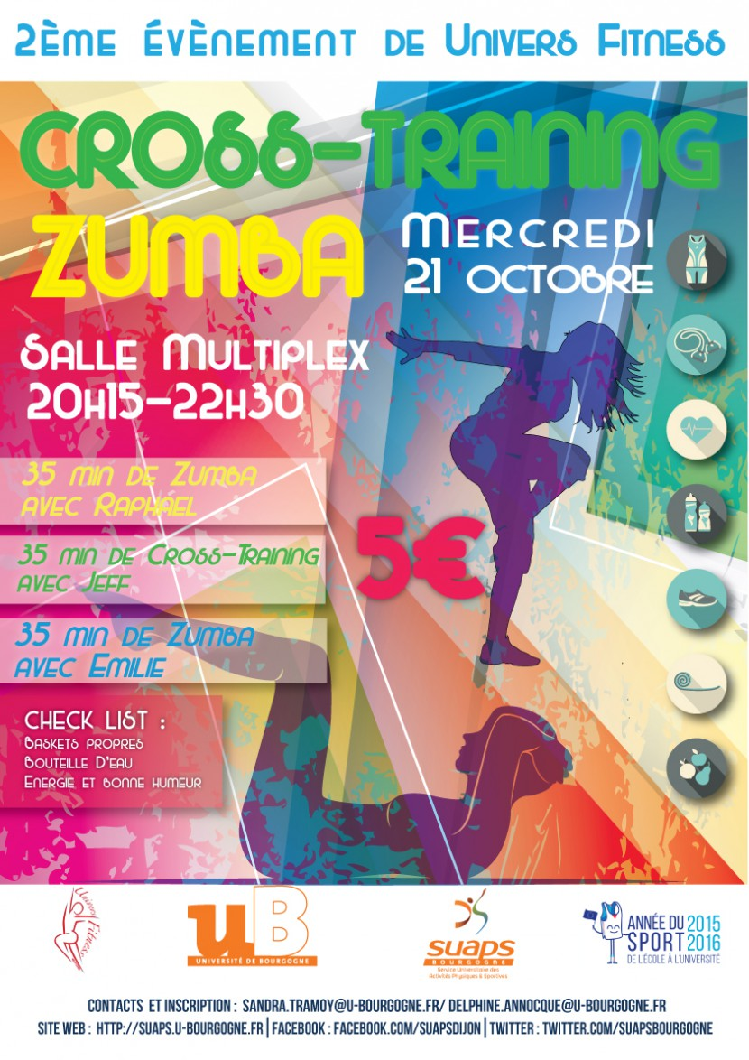 Cross-training Zumba