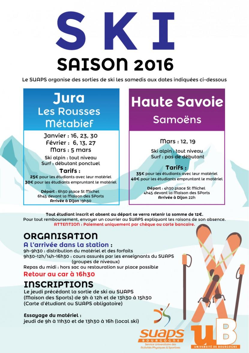 Sortie ski en Haute Savoie (Samoëns)