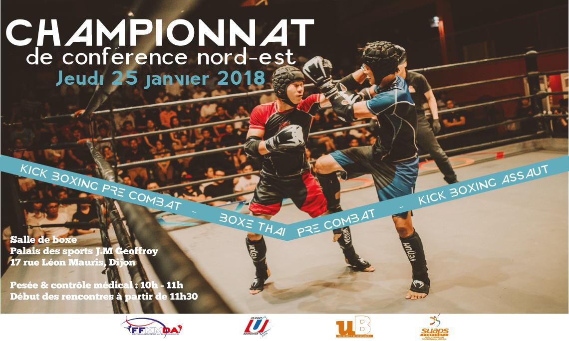 Championnat de Boxe – Janvier 2018