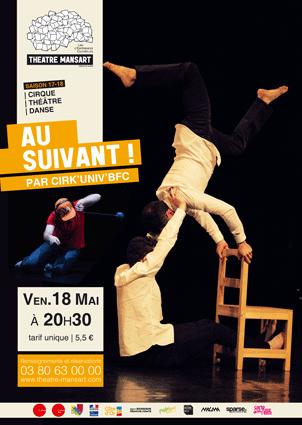Spectacle de cirque : AU SUIVANT !