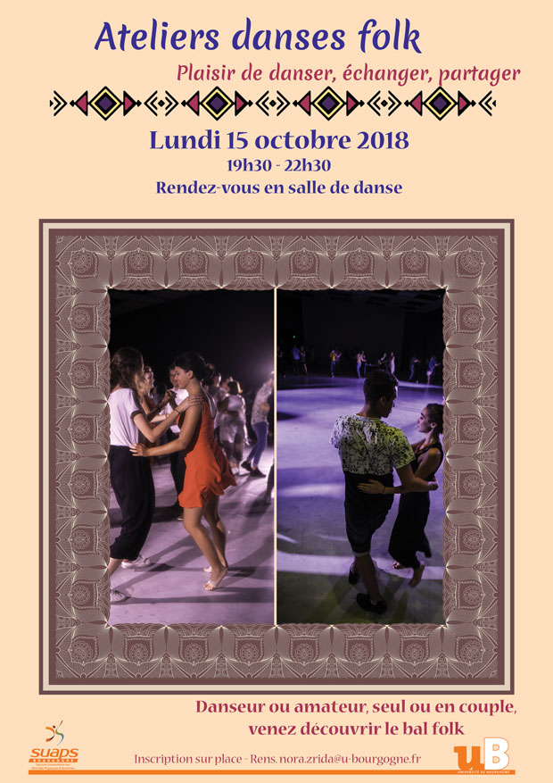 Atelier bal folk 15 octobre 2018 » fcff20062f8