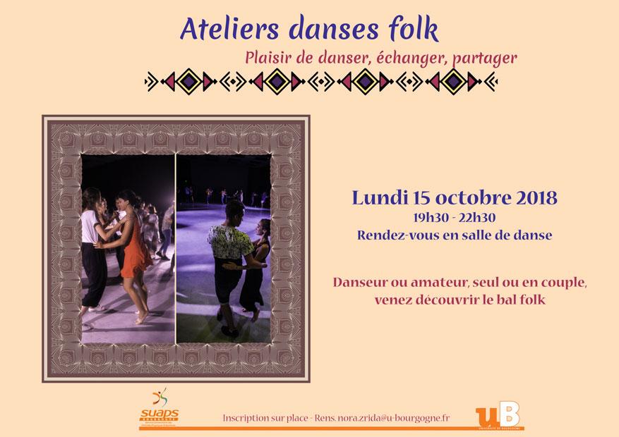 Atelier bal folk 15 octobre 2018
