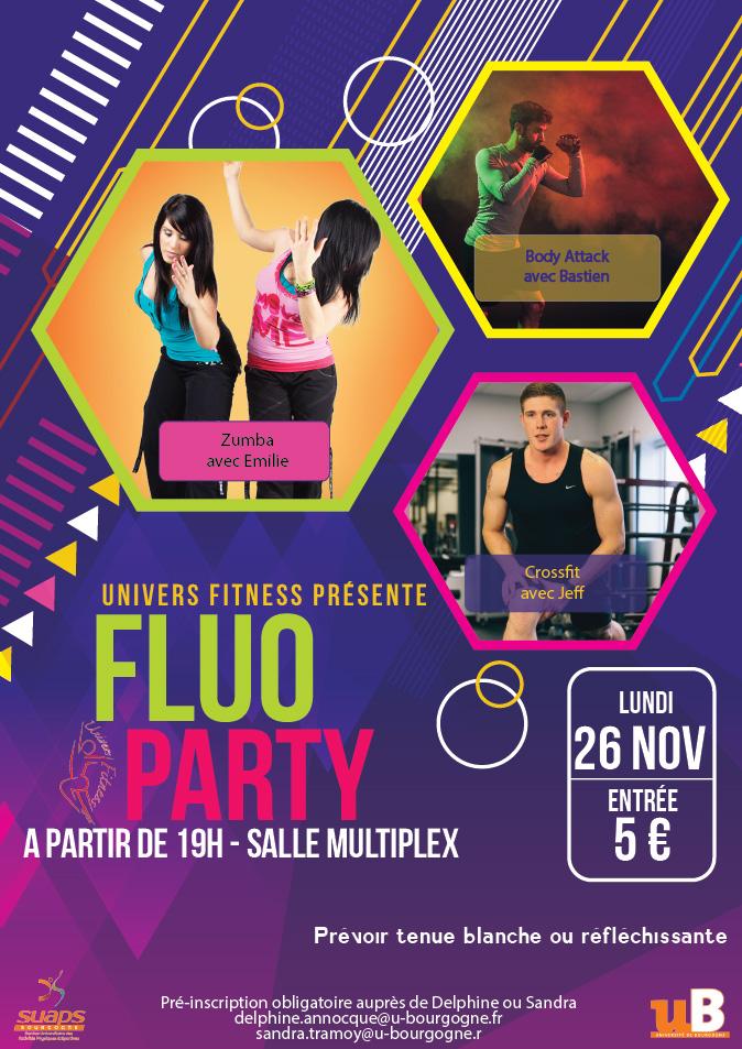 Fluo Party – Nuit du fitness – SUAPS Bourgogne 53805fb8582