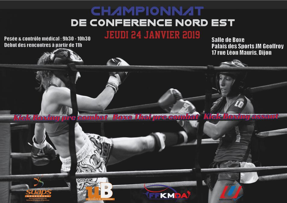 Championnat de boxe – janvier 2019