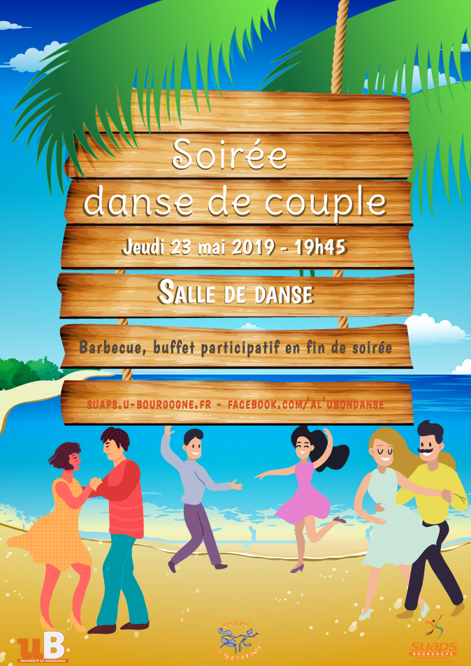 Soirée Danse de couple : barbecue, buffet participatif