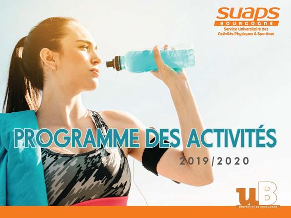 Programme SUAPS 2019-2020
