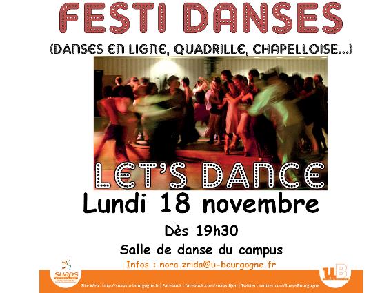 Festi Danses, le 18/11