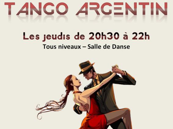 Tango Argentin, rentrée 2019