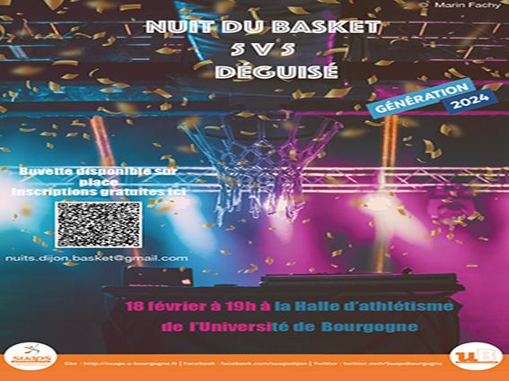 Nuit du Basket, le 18/2